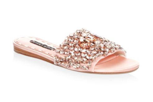 Alice+Olivia-Abbey-Satin-Embellished-Slides